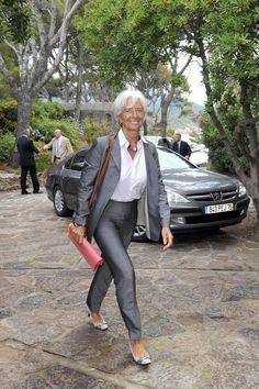 Christine Lagarde style inspiration