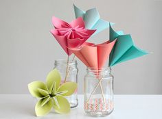 Make a Bouquet of Beautiful Paper Flowers for Mother's Day