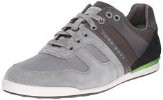 BOSS Green by Hugo Boss Men's Akeen Clean Fashion Sneaker *** Tried it! Love it! Click the image. : Mens shoes sneakers