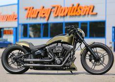 Harley-Davidson verlost eine 50.000 € Breakout für den guten Zweck