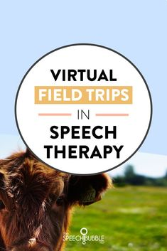 Virtual Field Trips in Speech Therapy: Great for distance learning and beyond! Speech has always been a fun place for our kids. We get hands on, we play games ( with a purpose 😉), we build skills through so many different ways. Sometimes our kids, as well as us, need a change though, so why not a field trip?! #slp #schoolslp #speechtherapy #sped