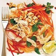 Chicken and Glass Noodle Salad | CookingLight.com