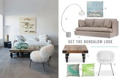 Get the beach bungalow look from StylishBeachHome.com #bungalow #interiors