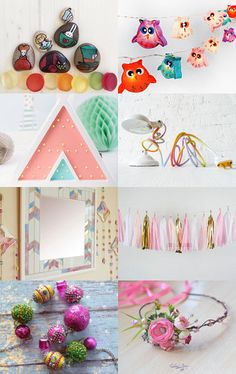 Sugar pink by Monika Schulcz on Etsy--Pinned with TreasuryPin.com