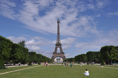 The Champ de Mars (Field of Mars) is a large public green space in Paris, France, located in the seventh arrondissement, between the Eiffel Tower to the northwest and the École Militaire to the southeast. #ChampDeMars #EiffelTower #Paris #France