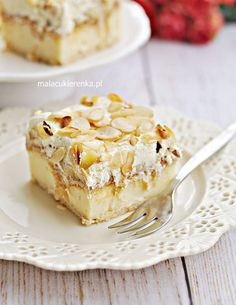 Torta puding a banánnal készült kekszekről - RECIPE - MC Orange Zest Cake, Yummy Treats, Delicious Desserts, Polish Recipes, Almond Recipes, Easter Recipes, No Bake Cake, Sweet Recipes, Cookie Recipes