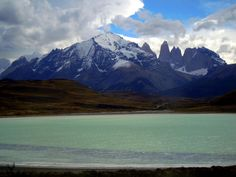 Germán Vogel posted a photo:  [Parque Nacional Torres del Paine, Magallanes y Antartica Chilena, Chile] Beautiful and relaxing remote Patagonia natural landscape with the Andean Torres del Paine granite massif at the back and the turquoise waters of a glacial lake in front.  Follow my photos in Facebook  ©2017 Germán Vogel - All rights reserved - No usage allowed in any form without the written consent of the photographer.