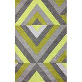 Found it at AllModern - Cine Chartreuse Roxy Area Rug