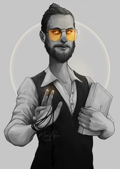 Joseph Seed, Far Cry 5. #FarCry #FarCry5 #JosephSeed #fanart #SeedFamily #gameart #digitalart #comicart