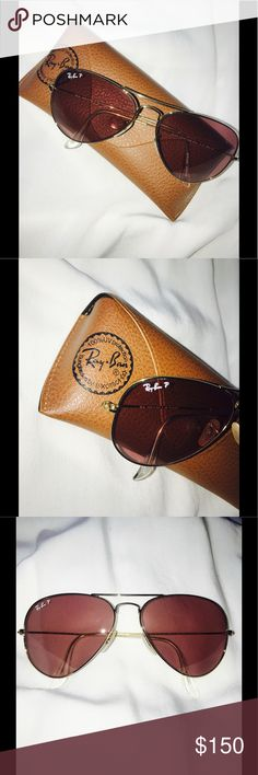 7f1e9dca4a2a Selling this RayBans Large Aviators on Poshmark! My username is   annnejunelle.