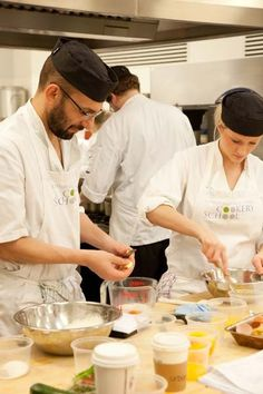 Students Cooking | Edinburgh New Town Cookery School