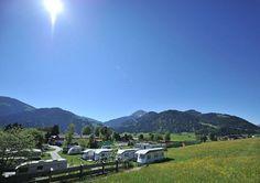 Camping mit Hund am Wilden Kaiser in Söll, Tirol