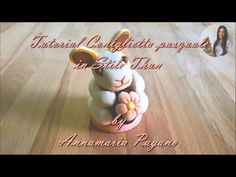 Coniglietta in Stile Thun - Tutorial di Cake Design by Annamaria Pagano - YouTube