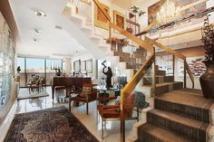 Paul McCartney bought the penthouse at 1045 Fifth Avenue, New York for $19.8 million.