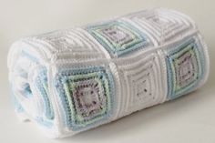 Handmade Newborn Blanket -Baby Shower Gift -   Photography Prop - Multicolor Crib Blanket - Natural Antibacterial - Baby Boy  & Baby Girl