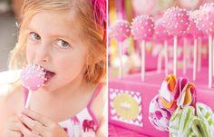 Pink Sprinkle Cake Pops