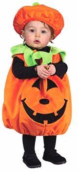toddler cute pumpkin costume  #ToddlerCostume #HalloweenCostume #Halloween2014