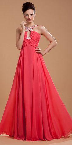 Chiffon Beading Spaghetti Straps Brush Train Evening Dress P3216 Prom  Dresses For Sale e8e96d54731