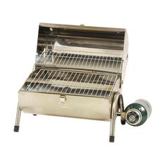 Stansport Stainless Steel (Silver) Propane BBQ Grill