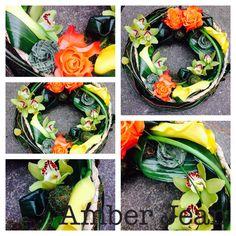Bespoke Wreath Short Courses, Bespoke Design, Amber, Cabbage, Vegetables, Flower, School, Food, Custom Design