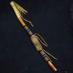 Beaded Dance Stick Native American Beadwork