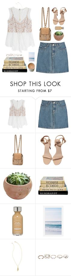 """""""Untitled #1480"""" by timeak ❤ liked on Polyvore featuring Veronica Beard, A.P.C., Chloé, Alexander Wang, L'Oréal Paris, Pottery Barn, Lilly Pulitzer and GUESS"""