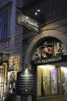 Der Eingang in die Wollzeile zum Figlmüller Wien