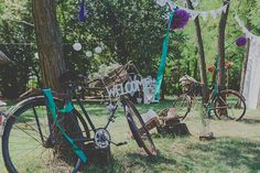 You have to use those old and rusty bikes! Vintage Fairies, Wedding Designs, Real Weddings, Fairy Tales, Marvel, Photography, Art, Fotografie, Art Background