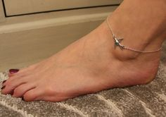 A personal favourite from my Etsy shop https://www.etsy.com/uk/listing/288979231/swallow-anklet-silver-swallow-anklet