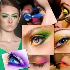 make up photography - eye shadow