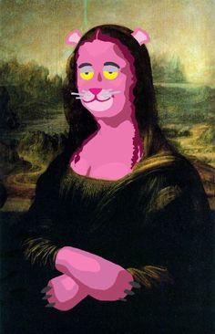 Mona Lisa Project- Mona Lisa Pink Panther
