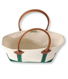 #LLBean: Leather Handle Boat and Tote II - okay I need at least 5 of these!  Love the new version.  #alwaysbescouting