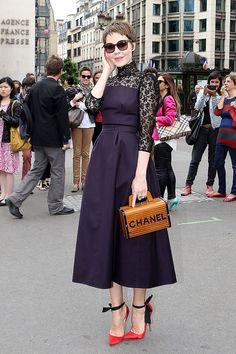 front row paris haute couture 2013 2014 - Ulyana Sergeenko