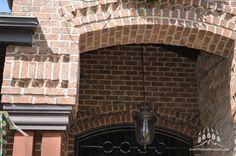Oxford Cherokee Brick from Kodiak Mountain Stone   www.KodiakMountain.com