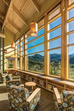 Ketchikan (Alaska) Public Library Ketchikan Public Library's design recalls the canneries, lumber mills, and Native American longhouses o...