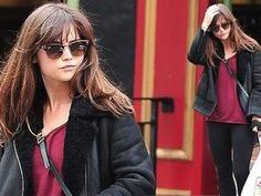 Jenna Coleman keeps it casual as she enjoys her time off from Doctor Who filming - Daily Exterminate