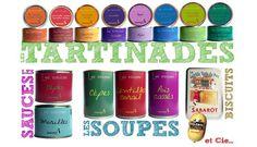 Epicerie fine : Tartinades, Sauces, Soupes, Biscuits