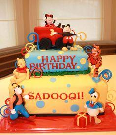 Disney Friends Cake by CakeSuite, Westport CT