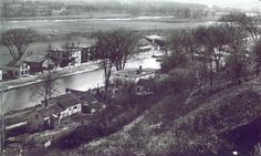 Fort Plain, New York, circa 1880, along the banks of the Erie Canal.