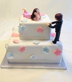 Engagement proposal cake  http://instagram.com/p/xQnz0TSX4V/?modal=true