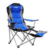 Found it at Wayfair - Folding Camping Chair with Footrest $37