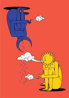 997:  Sun and Moon-to create the rain season Bloody Hell Big Head 2014