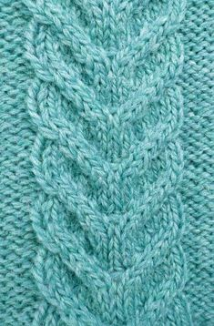 Discover thousands of images about Free Staghorn Cable Knitting Stitch. Abbreviations – Cable over 4 stitches to the back. This is worked by sliding 2 stitches from the left. Baby Knitting Patterns, Knitting Stiches, Cable Knitting, Hand Knitting, Stitch Patterns, Crochet Patterns, Sweater Patterns, Cable Pattern Free, Cable Stitch Knit