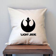 Light Side Dark Side Star Wars Pillow Cover Set by slushieprints