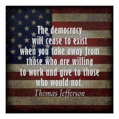 Patriotic 4th of July quotes     Seems we're rapidly approaching this, if not already there.