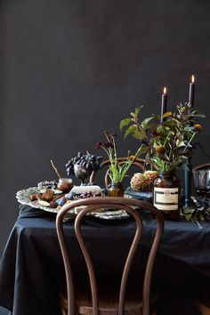 A Wickedly Gorgeous Halloween Dinner Party - Camille Styles