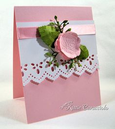 CAS Sonora Rose by kittie747 - Cards and Paper Crafts at Splitcoaststampers