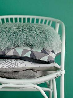Bloomingville rotan stoel mint - IPPYS