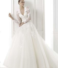 Pronovias Wedding Dresses Pre-2015 Collection - MODwedding