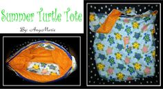 Summer Turtle Tote